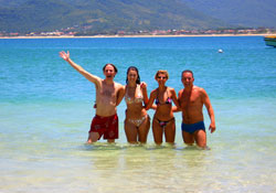 Make friends and learn Portuguese in Florianópolis