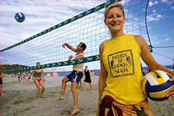 Spanish Beach Volleyball in Nerja