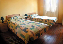 Double room accommodation in Montvideo